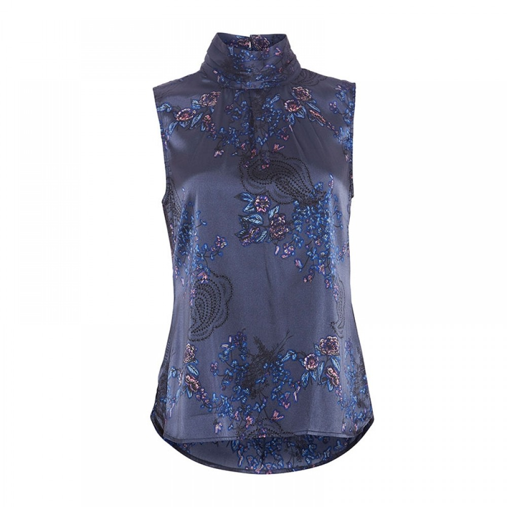 PBO top - Helle Top, Sign Blue