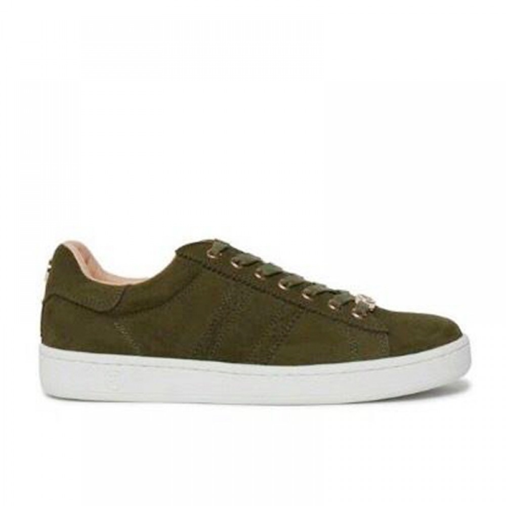 Philip Hog sneakers - Serena Kid Suede, Leaf Army