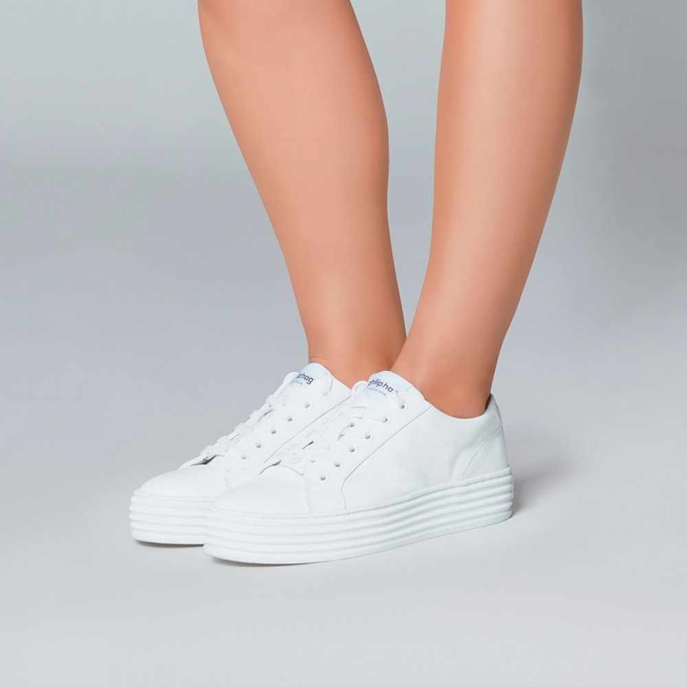 Philip Hog sneakers - Molly, White