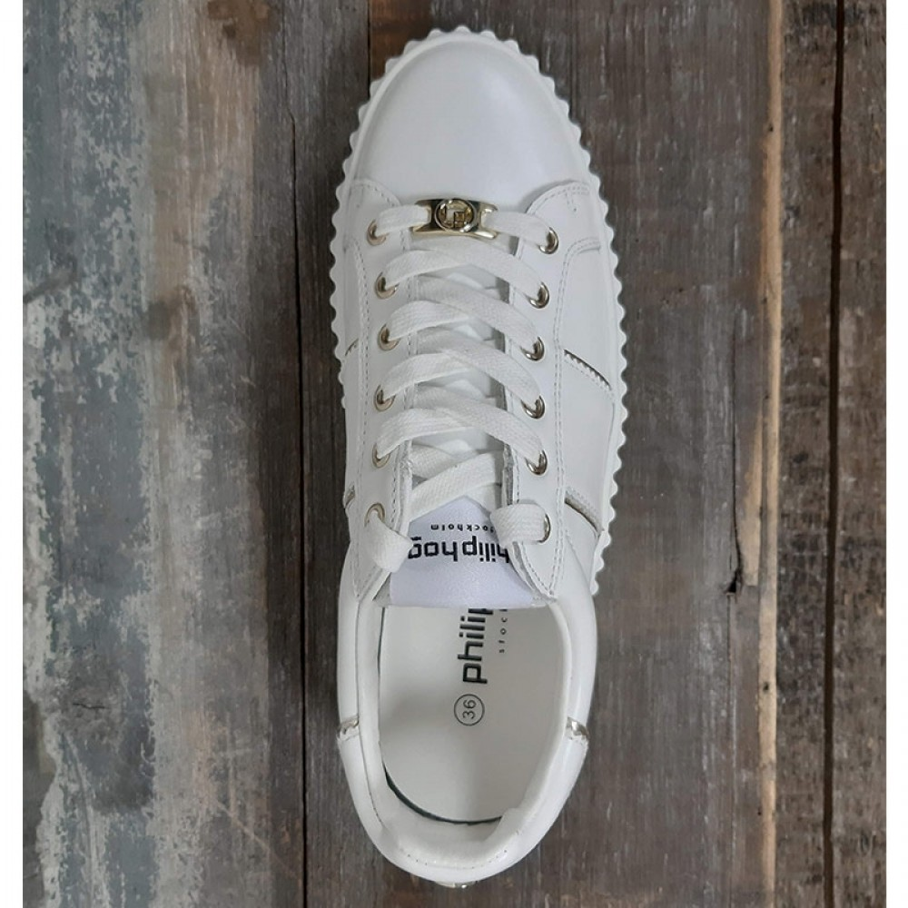 Philip Hog sneakers - Mila Cow Leather, White