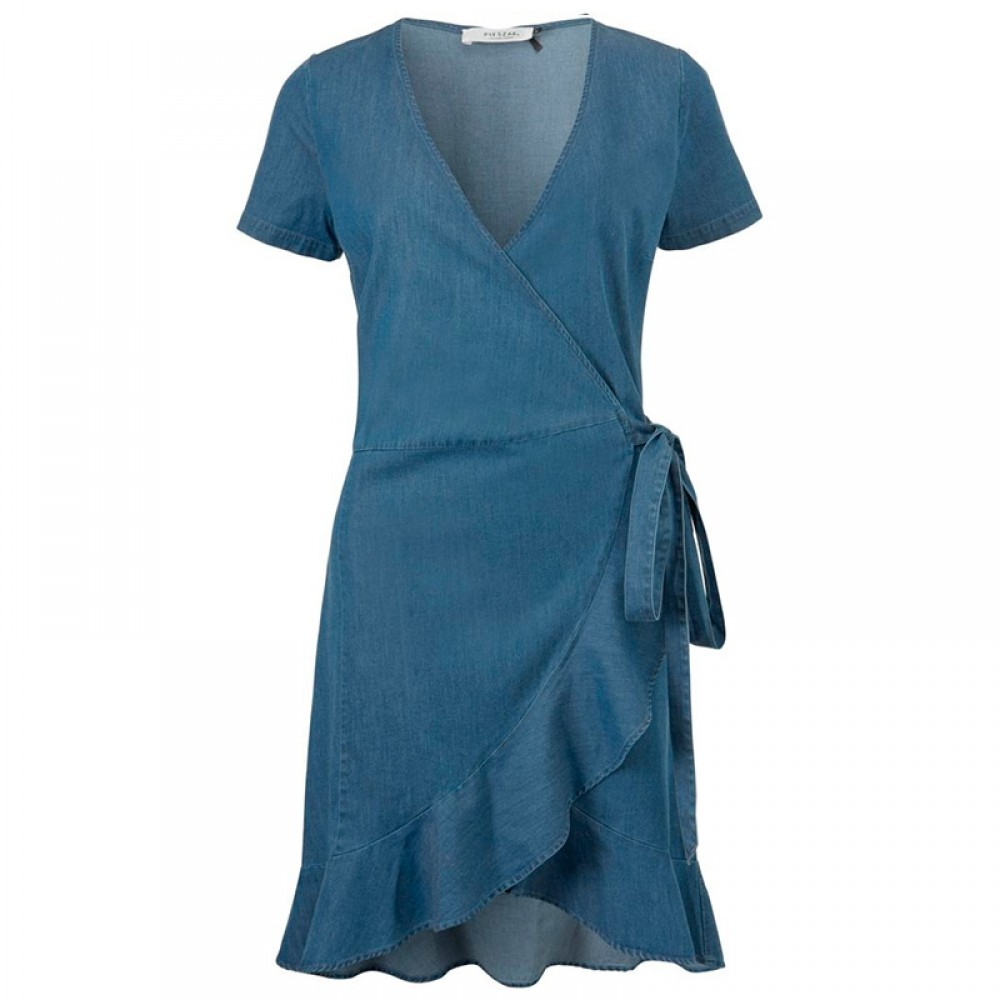 PIESZAK kjole - Tilly SS Dress, Denim Blue