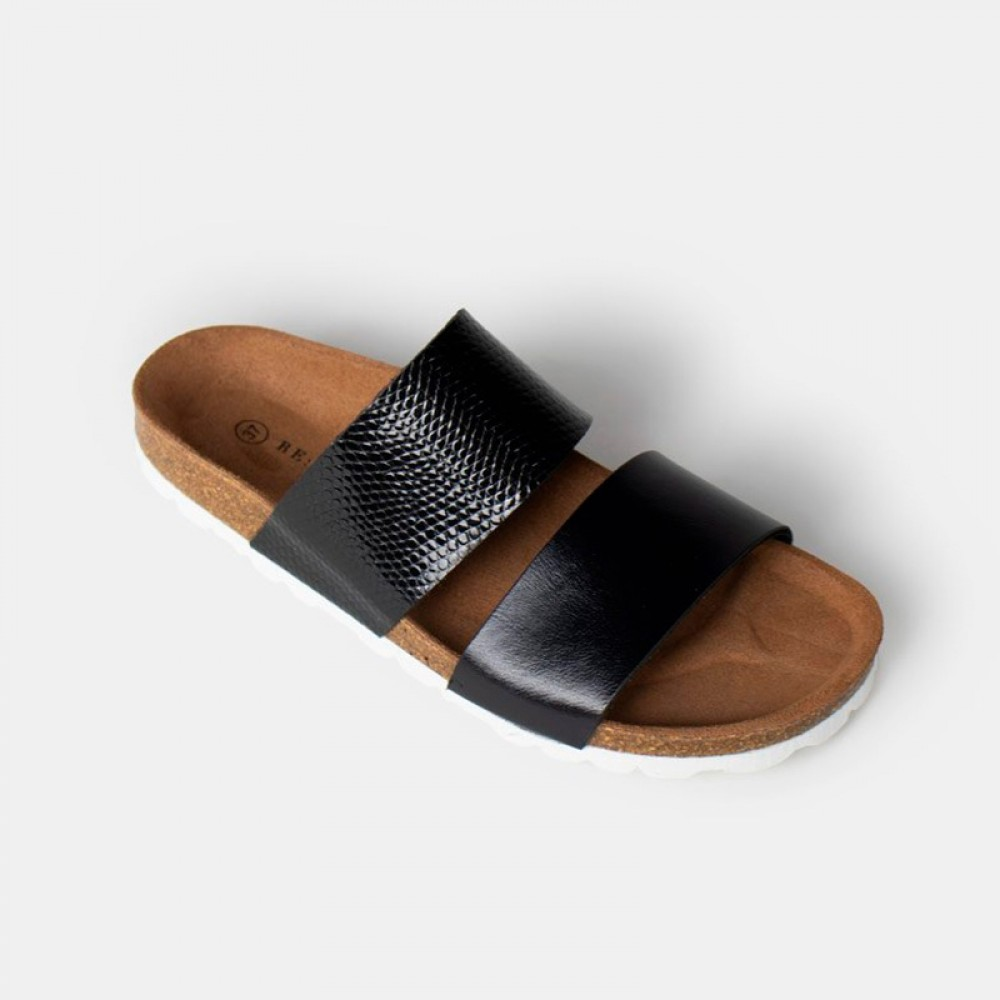 RE:DESIGNED sandal - Cassavio, Black