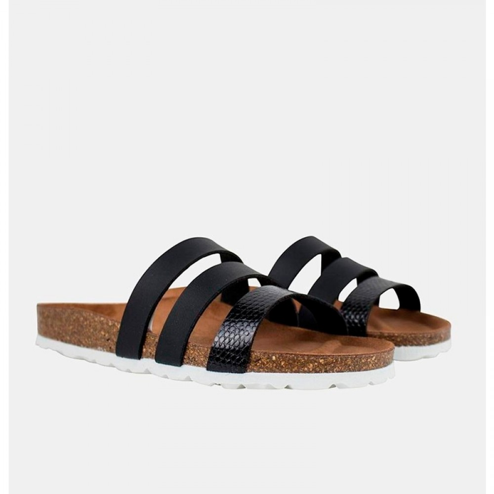 RE:DESIGNED sandal - Taimi, Black