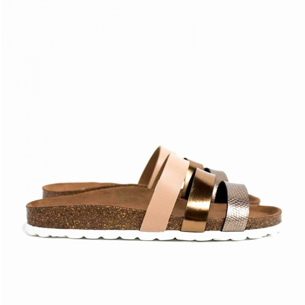 RE:DESIGNED sandal - Taimi, Bronze
