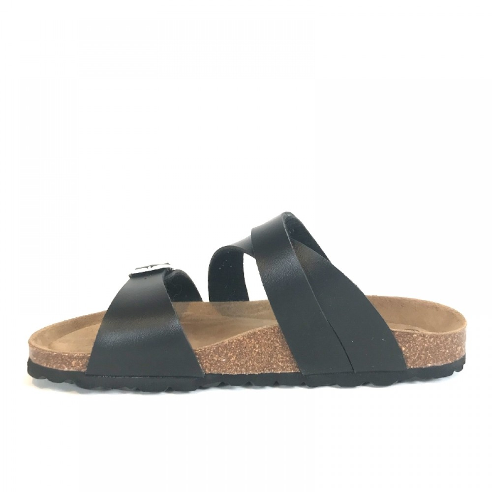 RE:DESIGNED sandal - Letta Sandals, Black