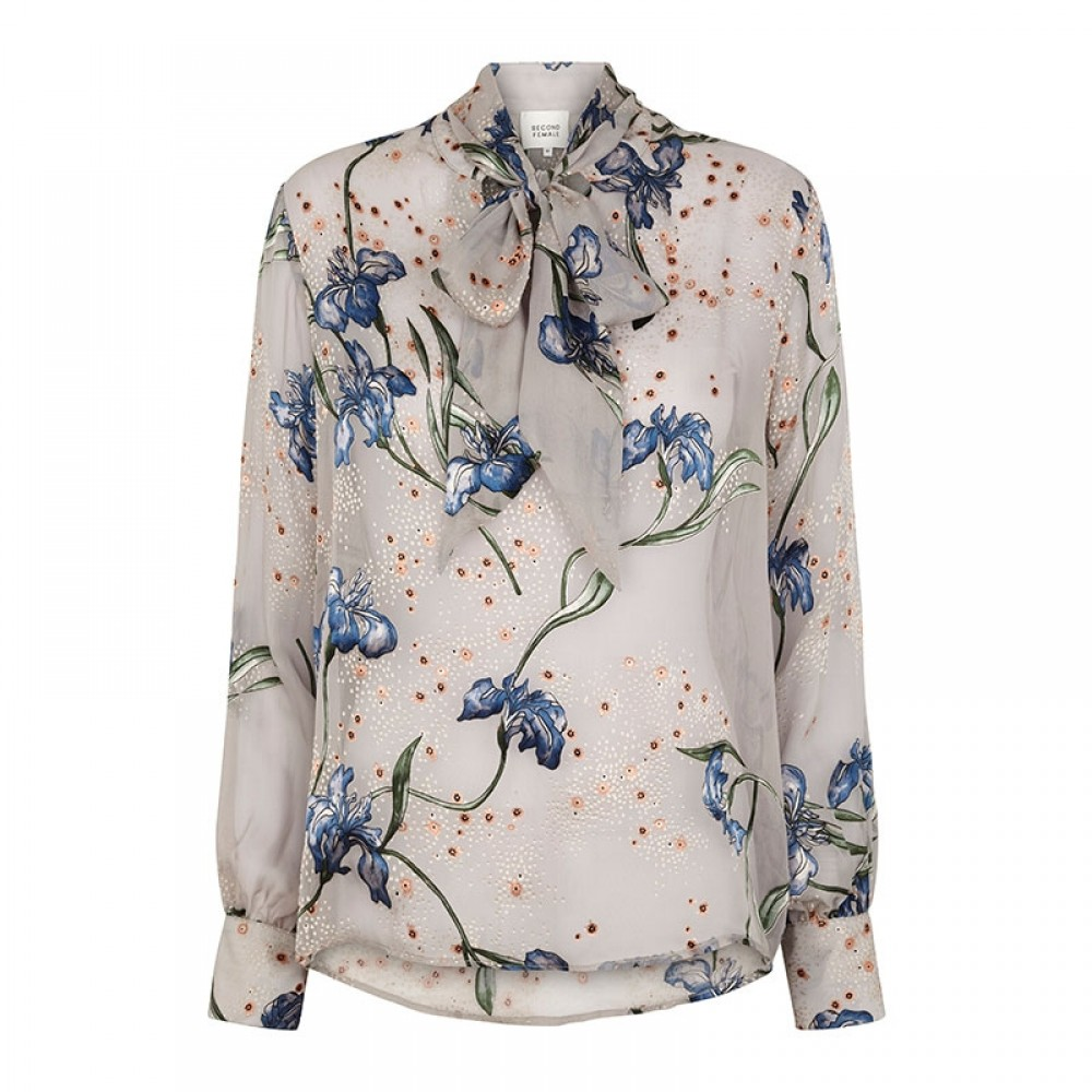Second Female bluse - Amaryllis Blouse, Brunnera Blue