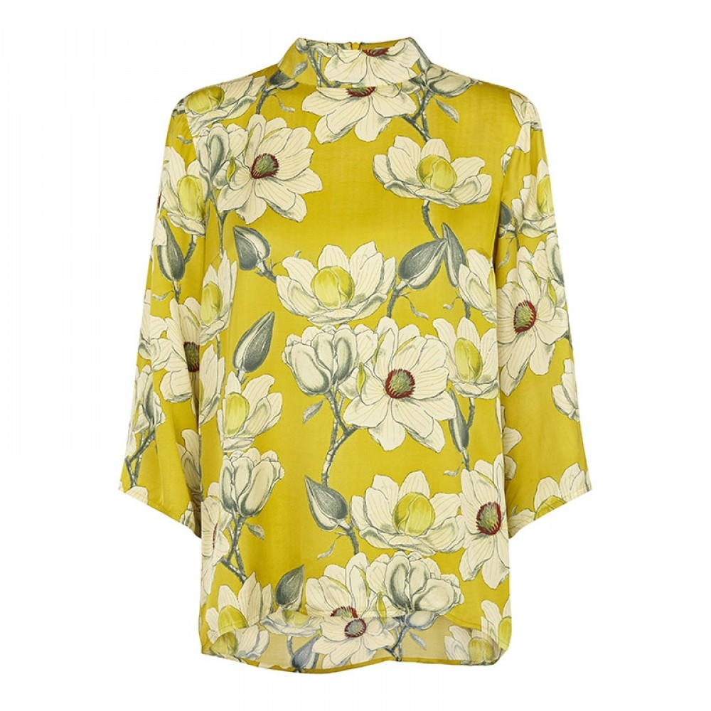 Second Female bluse - Magnolia Blouse, Antique Moss