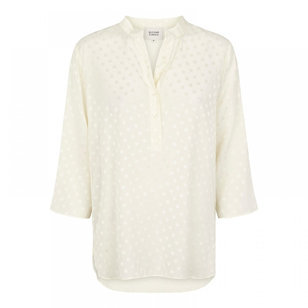Second Female bluse - Mardi Blouse, Cannoli Cream