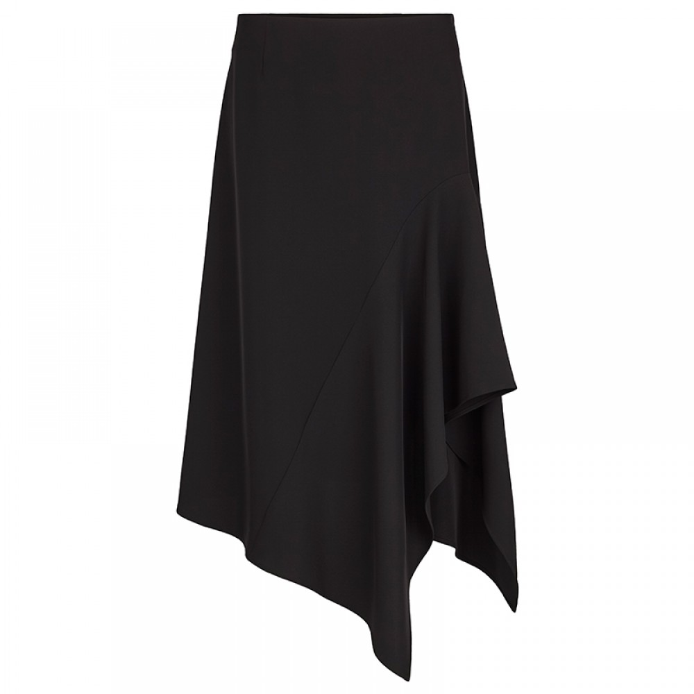 Second Female nederdel - Silja Skirt, Black