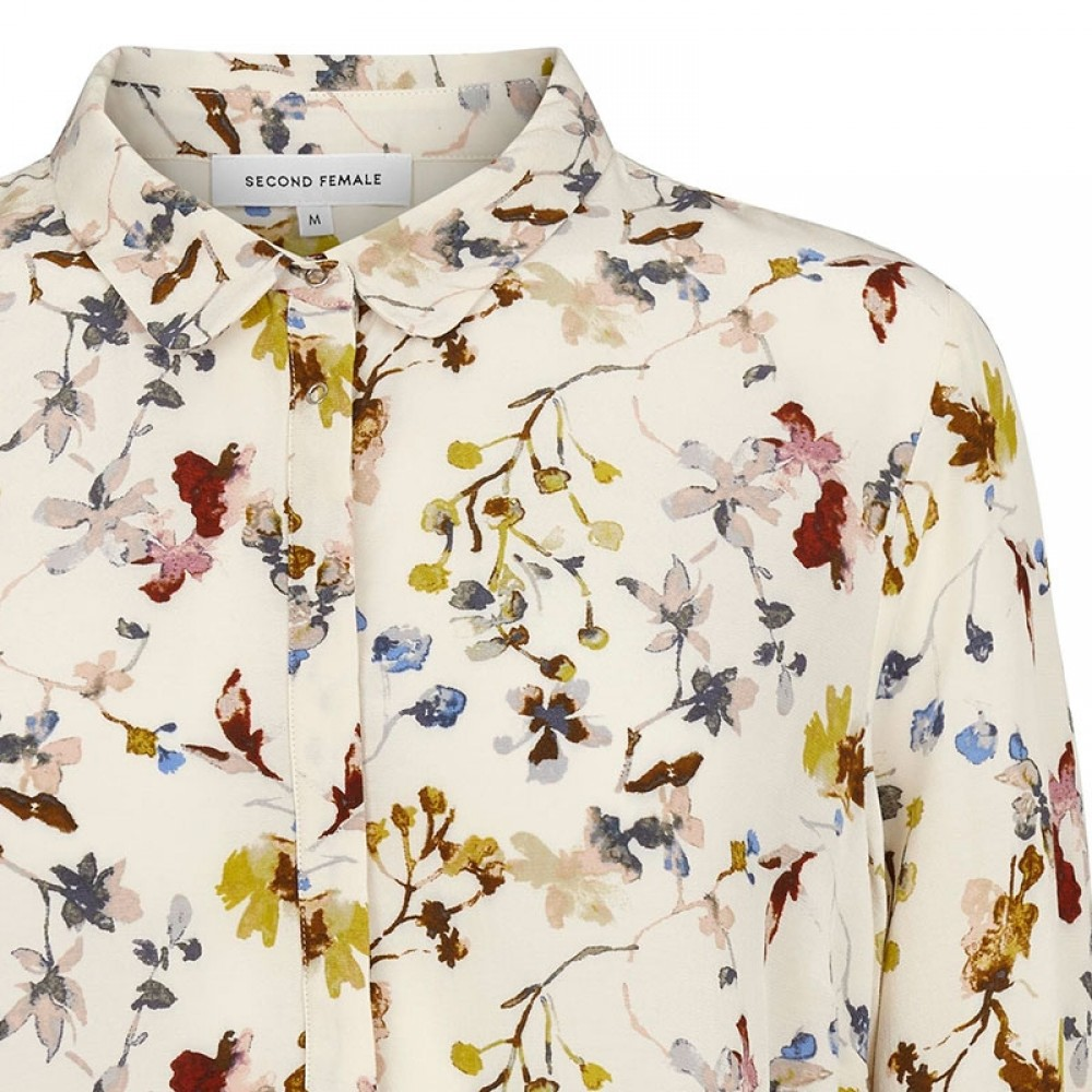 Second Female bluse - Scarlet Shirt, Off White