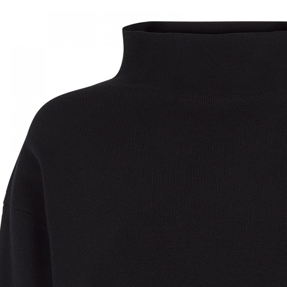 Second Female bluse - Kamilla Knit T-Neck, Black