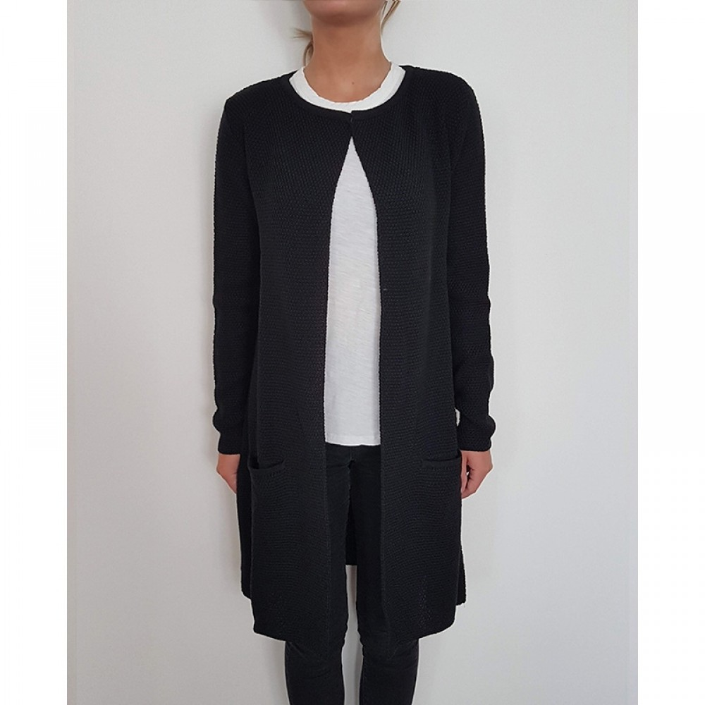 Sibin/Linnebjerg cardigan - MARY, Black 1999