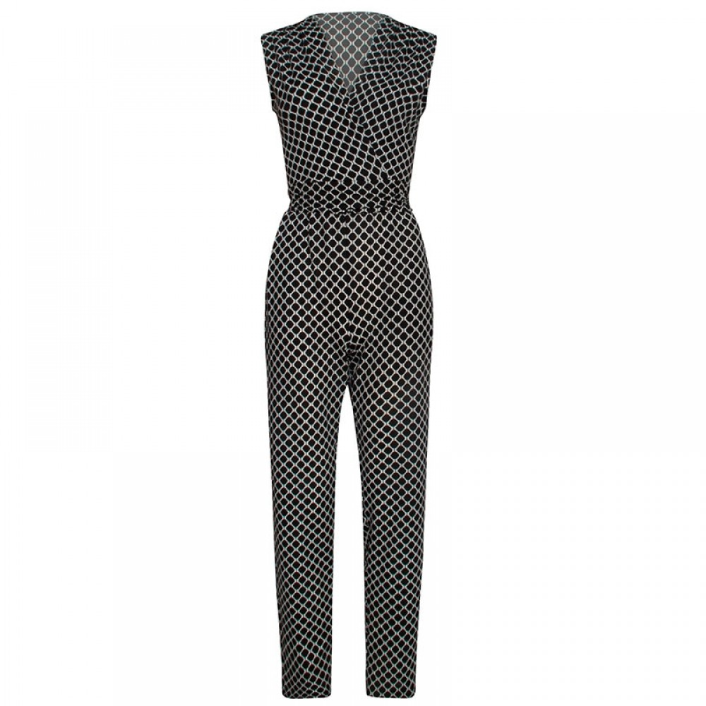 Smashed Lemon buksedragt - 19103 Jumpsuit, Black