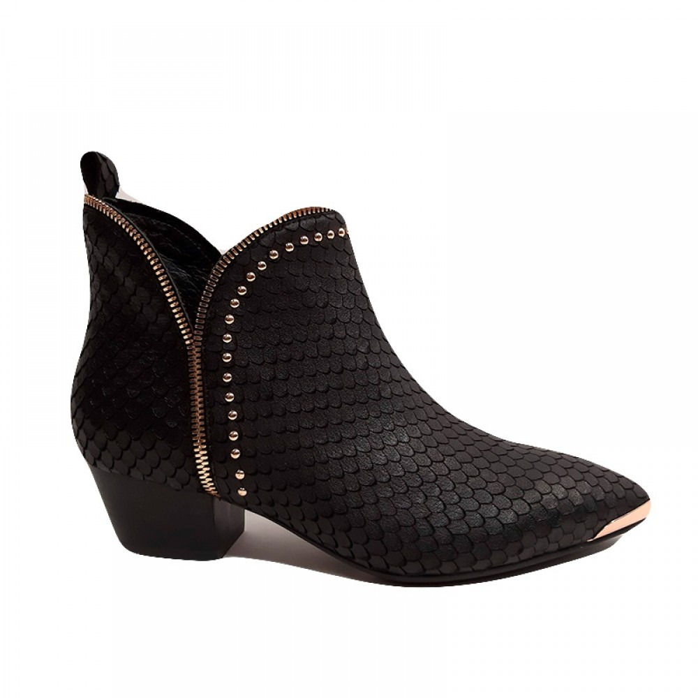 Sofie Schnoor støvle - Boot Valley 4,5 cm, Black Gold