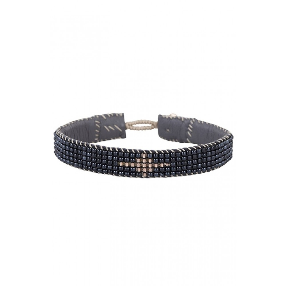 Tembi Jewellery armbånd - RME116, Sort