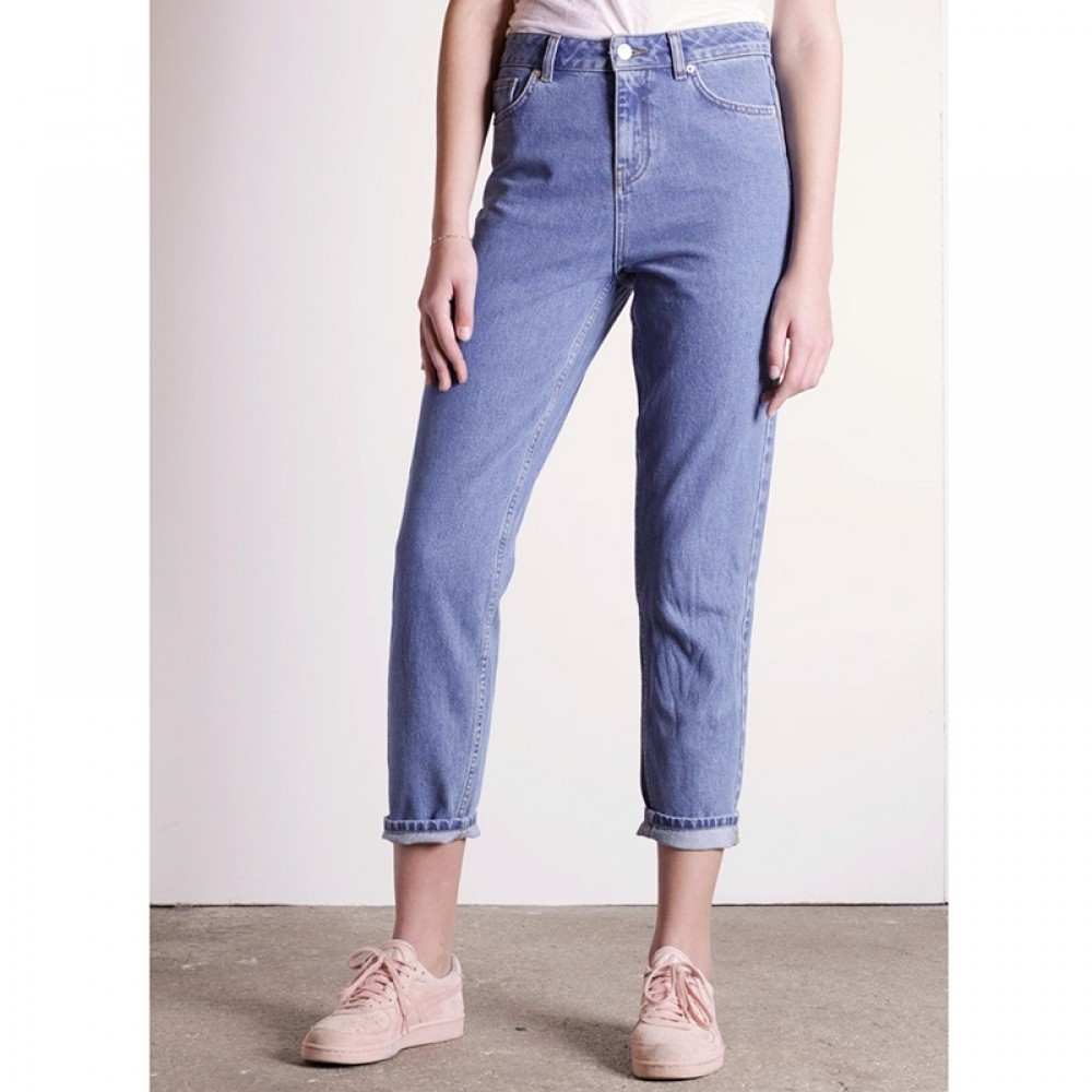 WHY7 jeans - DANA HW Mom Jeans, Blue
