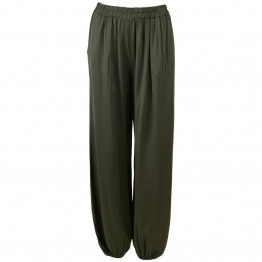 Black Colour bukser - Zita Ballon Pants, Army