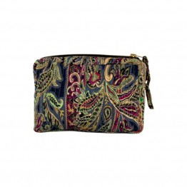 Black Colour taske - LUNA Cosmetic Bag, Garden Gold