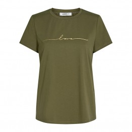 Co'couture bluse - Naya Love Tee, Army