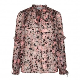 Co'couture bluse - Gemma Frill Blouse, Candyfloss
