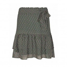 Co'couture nederdel - Moni Square Skirt, Green
