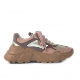 Copenhagen Shoes sneakers - CANDY Metallic, Rosa Gold