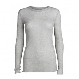 Gai + Lisva bluse - Fermi Blouse, Light Grey Melange