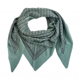 GAUGE & PLY tørklæde - Gaia Scarf, Dusty Green