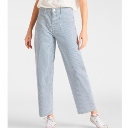 Lee bukser - Wide Leg Patch Pant, Hickory Stripe