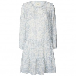 Lollys Laundry kjole - Albert Dress, Dusty Blue