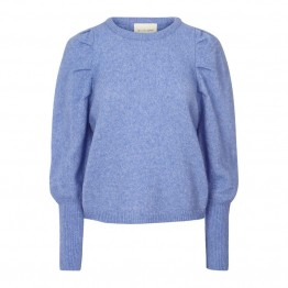 Lollys Laundry strikbluse - Priscilla Jumper, Light Blue
