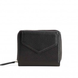 Markberg pung - Laura Wallet, Grain, Black