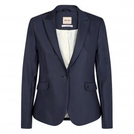 Mos Mosh blazer - Blake Night Blazer Sustainable, Navy