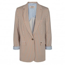 Mos Mosh blazer - Cobb Rale Blazer, Light Blue Stripe