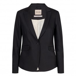 Mos Mosh blazer - Blake Night Blazer Sustainable, Black