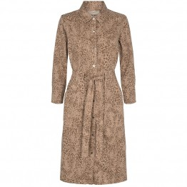 Mos Mosh kjole - Selby Leo Dress, Cuban Sand