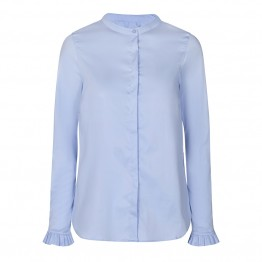 Mos Mosh skjorte - Mattie Sustainable Shirt, Light Blue