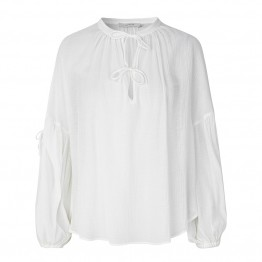 Munthe bluse - METER Blouse, Ivory