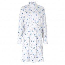 Munthe skjortekjole - TILIA Shirtdress, Blue
