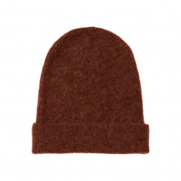 Object strikhue - NETE BEANIE, Brown Patina