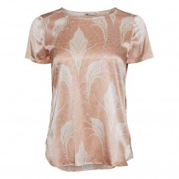 PBO bluse - Wilfred, Gold Sand Print