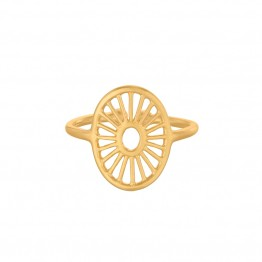 Pernille Corydon ring - Small Daylight Adjustable, Guld
