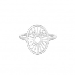 Pernille Corydon ring - Small Daylight Adjustable, Silver
