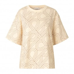 Second Female bluse - Topaz Tee, Natural
