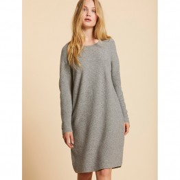 Sibin/Linnebjerg strikkjole - BJØRK Dress, Dark Melange Grey