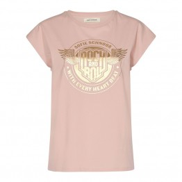 Sofie Schnoor bluse - Nikoline T-shirt, Light Rose
