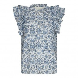 Sofie Schnoor bluse - Seraphina Blouse, Dusty Blue