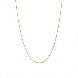 Stine A halskæde - Plain Pendant Chain Short, Gold