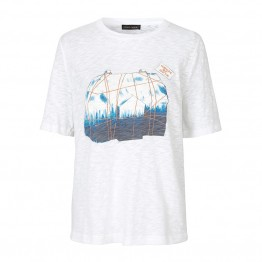Stine Goya t-shirt - Leonie Flamme Tee, House of Goya