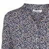 Co'couture bluse - Coco Petite Flower LS, Blue